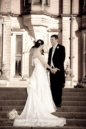Katie and Michael, Beaumanor Hall